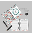 Christmas planner template vector image vector image