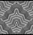 geometric striped embroidery seamless vector image