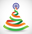 Happy Independence Day of India 15th august vector image
