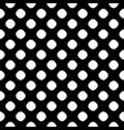 seamless pattern black white dotted texture vector image vector image