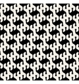 Seamless Rounded Drop Shape Pattern vector image