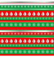 Wrapping Christmas paper vector image vector image