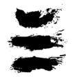 Grunge paint splash vector image