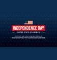 background collection independence day vector image vector image