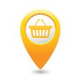 basket icon yellow map pointer