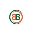 bb company logo template design vector image