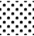 canvas icon simple black style vector image vector image