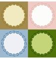 Decorative calligraphic frames set vector image vector image