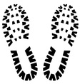 Footstep icon vector image vector image