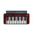 piano icon image vector image