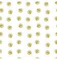 tennis pattern seamless isolated vector image vector image