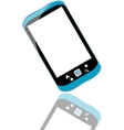 modern smart phone for mobile communication with vector image
