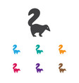 of animal symbol on smelly vector image