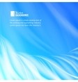 Abstract blue flames vector image