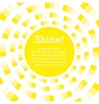 background for text sun shining vector image vector image