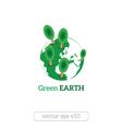 Eco Friendly green earth concept vector image