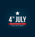 happy independence day celebration background vector image vector image