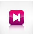 Next track web iconMedia player vector image vector image