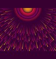purple abstract modern background with circle of vector image vector image
