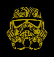stormtroopers floral vector image vector image