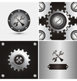 symbol and background vector image vector image