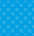 abacus pattern seamless blue vector image