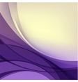 Abstract purple yellow background vector image vector image