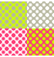 Bright checkered pattern vector image vector image