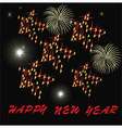 fireworks star vector image vector image