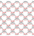 funny valentines day typography seamless pattern vector image vector image