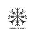 helm awe or terror norse mythology