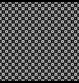 monochrome seamless pattern rings rhombuses vector image vector image