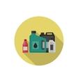 Motor oils icon vector image vector image