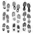 Otisak cipela Set 2 vector image vector image
