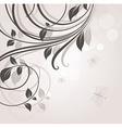 Romantic Floral Design vector image vector image