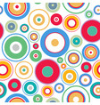 seamless geometric pattern with colorful vector image
