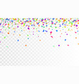 stock realistic defocused vector image vector image