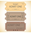 Three tickets vector | Price: 1 Credit (USD $1)