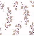 Seamless pattern background with branch vector image