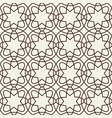 decorative geometric monochrome tracery grid vector image