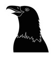 eagle bird icon vector image vector image