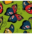 Flying butterfly seamless pattern Spring vector image vector image