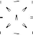 nail polish bottle pattern seamless black vector image