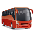 new modern comfortable city bus vector image vector image