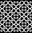 abstract black and white pattern vector image
