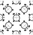 Alarm clock icon pattern vector image vector image