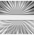 comic vs monochrome concept vector image vector image