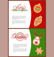 fresh gingerbread christmas cookies holiday treat vector image vector image