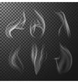 Match smoke vector image vector image