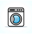 washing machine design clipart vector image vector image